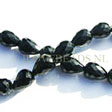 ONYX BEADS – FACETED DROP BEADS 12x8MM